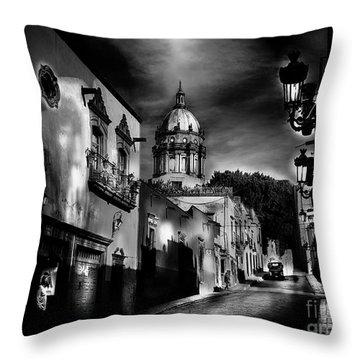 Street To The Nun's Church Throw Pillow