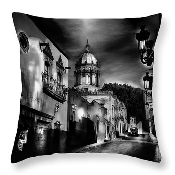 Street To The Nun's Church Throw Pillow