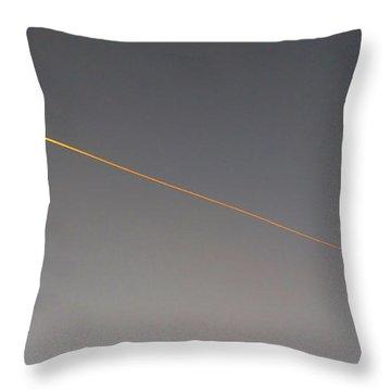 Streetlight Throw Pillow by Mark Alan Perry