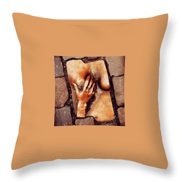 Streets Of Amsterdam Throw Pillow