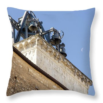 Streets Of Italy - Guardiagrele Cathedral 5 Throw Pillow by Andrea Mazzocchetti