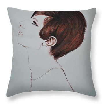 Barbra Streisand Throw Pillow