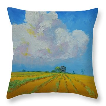 Strength For The Journey Ahead Throw Pillow by Sue Furrow