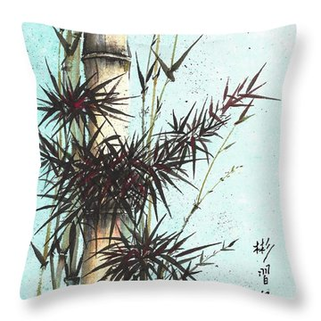 Strength Of Character Throw Pillow
