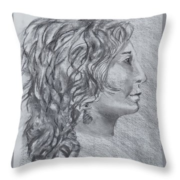 Strength Of Forward Vision Throw Pillow