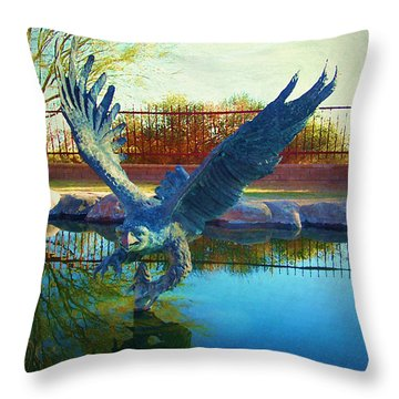 Strength Renewed Throw Pillow by Glenn McCarthy Art and Photography