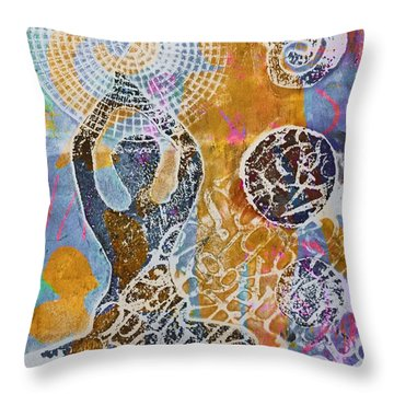 Strength Within Throw Pillow