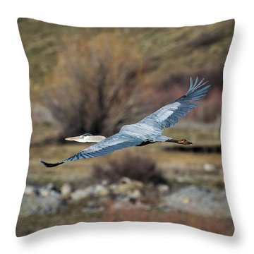 Stretched Wide Open Throw Pillow