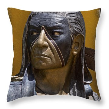 Strictly Buisness Throw Pillow