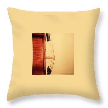 Musical Instruments Throw Pillows