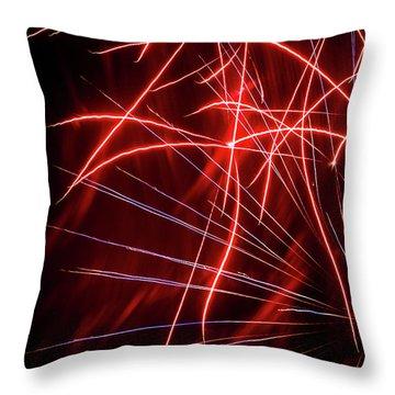 Stringers Throw Pillow