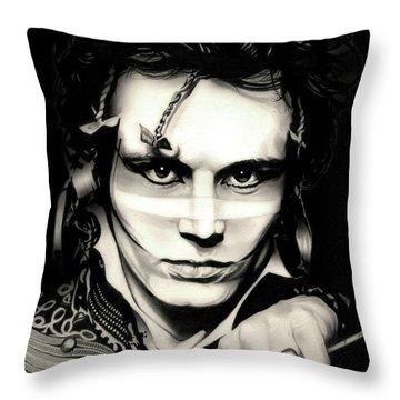 Strip Throw Pillow