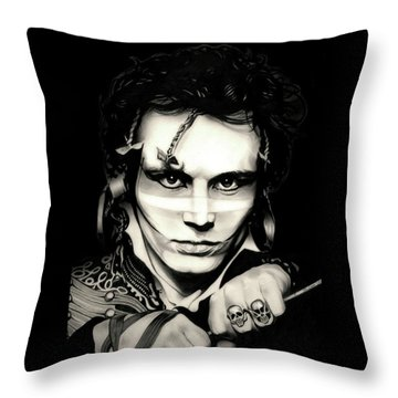 Strip Throw Pillow by Fred Larucci