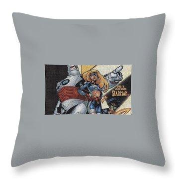 S.t.r.i.p.e. Throw Pillow
