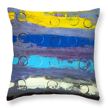 Striped Throw Pillow by Everette McMahan jr