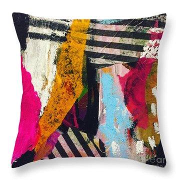 Stripes #1 Throw Pillow