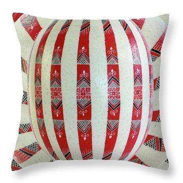 Stripes2 Throw Pillow