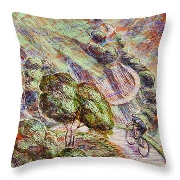 Striving To Sotres 1 Throw Pillow