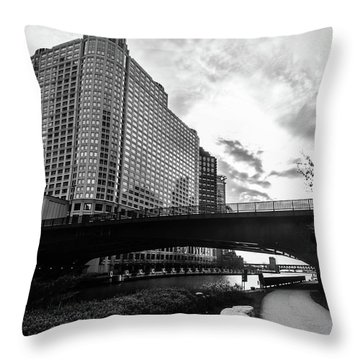 Strolling In The Chi Throw Pillow
