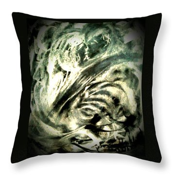 Strom With Love Throw Pillow