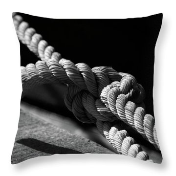 Strong As Ever Throw Pillow by Susanne Van Hulst
