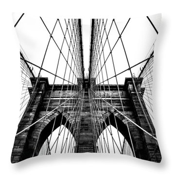 Strong Perspective Throw Pillow