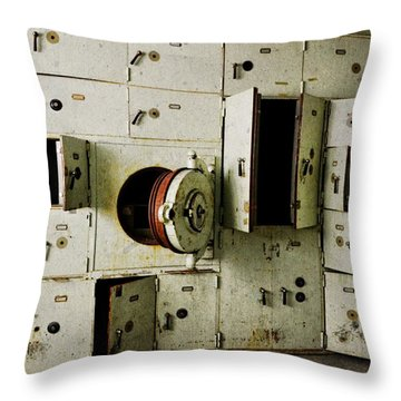 Stronghold At The Morton Hotel Throw Pillow