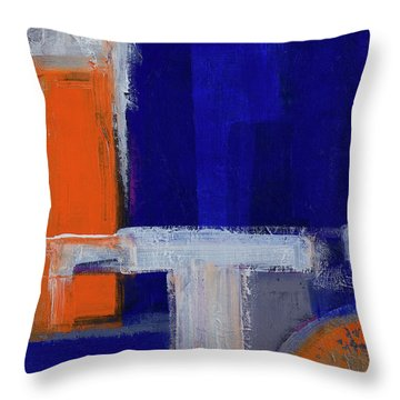 Structure No 2 Throw Pillow