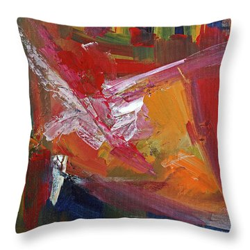 Structure No 4 Throw Pillow