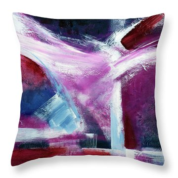 Structure No 5 Throw Pillow