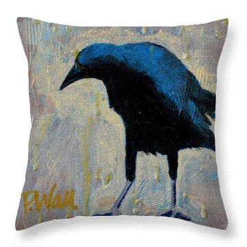 Struttin' Throw Pillow