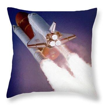 Sts-27 Throw Pillow