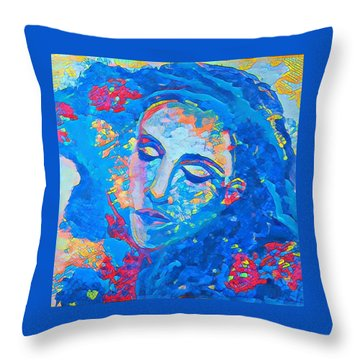 Stuck In A Moment Throw Pillow