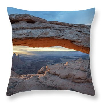 Throw Pillow featuring the photograph Stuck In A Moment by Dustin LeFevre