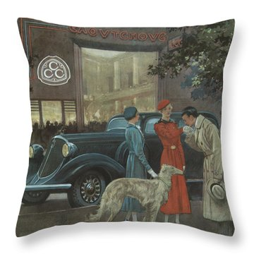 Studebaker #8704 Throw Pillow