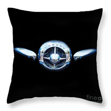 Studebaker In Black Throw Pillow