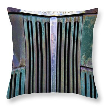 47 Studebaker Pick-up Grill Throw Pillow