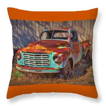 Studebaker - Pickup Truck Throw Pillow