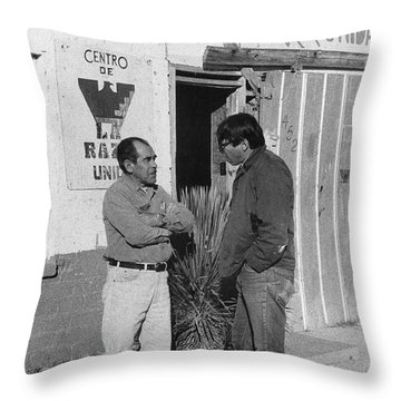 Student Volunteer, 1972 Throw Pillow by Granger