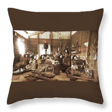 Studio Image Throw Pillow