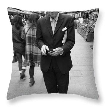 Studious Throw Pillow
