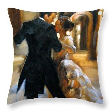Study For Last Dance 2 Throw Pillow
