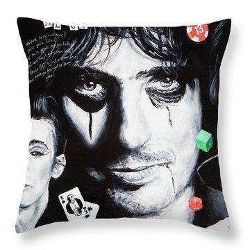 Study Of Alice Throw Pillow