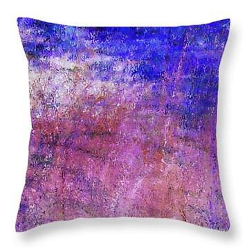 Study Of Brush Throw Pillow