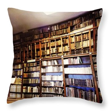 Book Heaven  Throw Pillow
