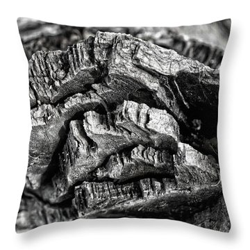 Stump Texture Throw Pillow