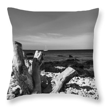 Stumped Throw Pillow by Russell Keating