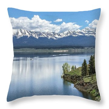 Stunning Colorado Throw Pillow by William Wyckoff