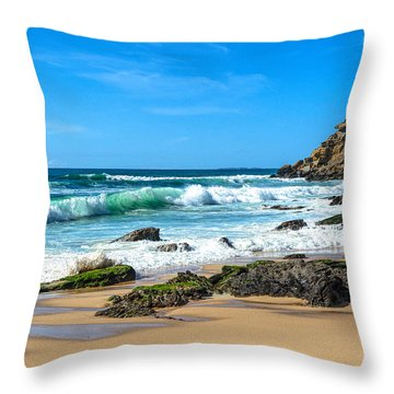 Stunning Seascape Throw Pillow