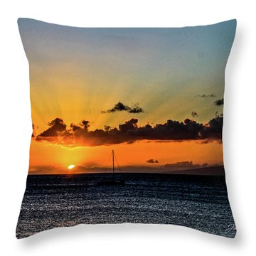 Stunning Sunset Throw Pillow